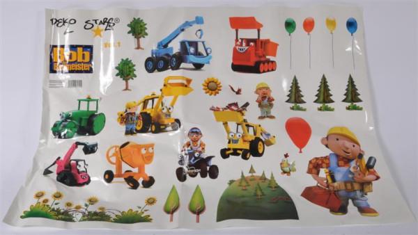 """Sticker """"Bob der Baumeister"""" ca. 98x69 cm"""