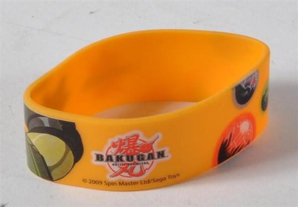 Bakugan Armband farbl. sort. OPP ca. D: 5 cm