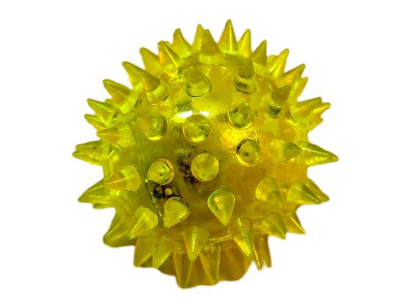Igelball mit Licht farbl. s. DIS, ca. D: 5cm