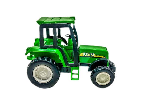 Traktor farbl. sort. OPP, ca. 8x4,5x6 cm