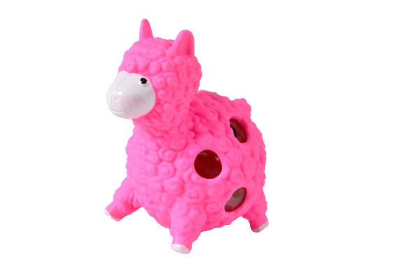 Alpaca Knautschfigur farbl. sort. DIS ca 8cm hoch