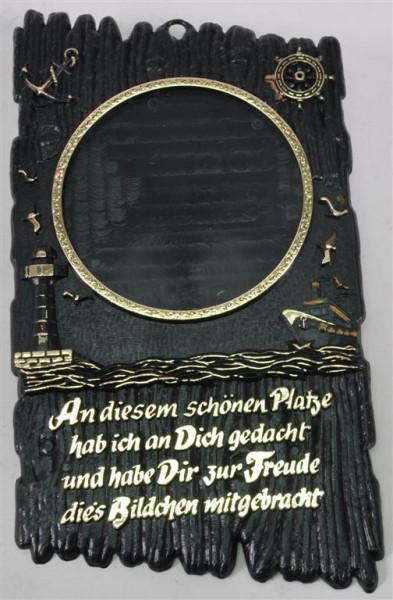 Wanddekoration m. Spruch ca. 22,5x13,5cm
