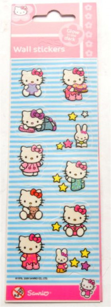 "Sticker ""Hello Kitty"" AK ca. 20,5c6,5cm"