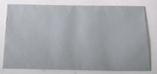 100er Set Briefumschlag hellgrau ca. 22 x 11 cm