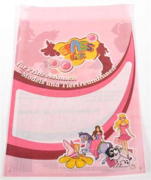 Spass Pack Mädchen ungefüllt ca. L=29 cm B=21 cm