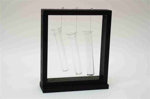 3er Reagenzglasständer FB; ca. 22x6,8x25,5cm