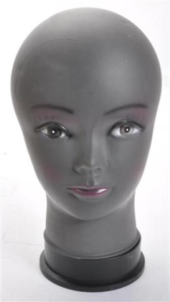 Aufsteller Kopf Ständer für Kopfbedeckung lose, schwarz