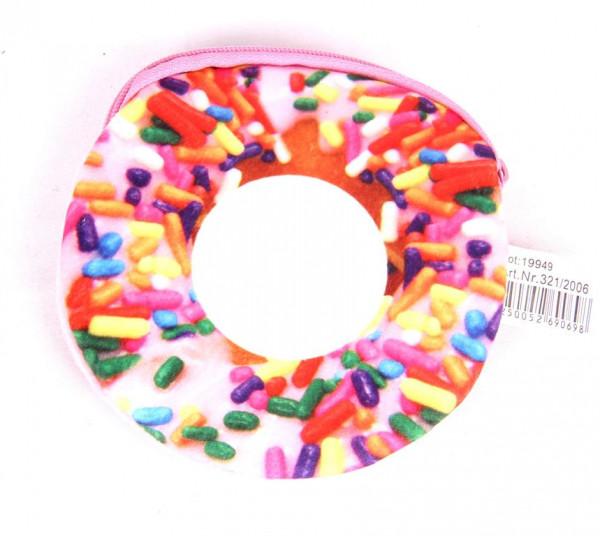 Geldbeutel Donut sort. ca. 11cm