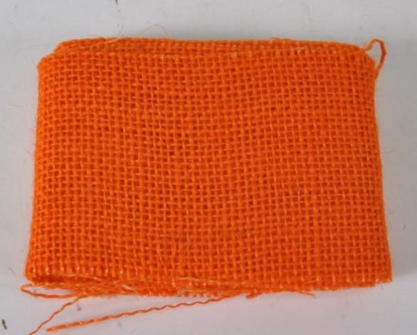 """Juteband orange OPP ca. 7cmx2m """"20111081400"""""""