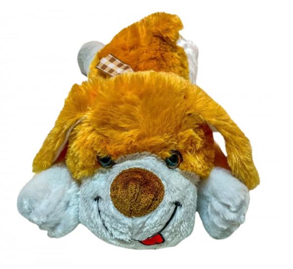 Plüsch-Hund liegend ca.38x17x14 cm