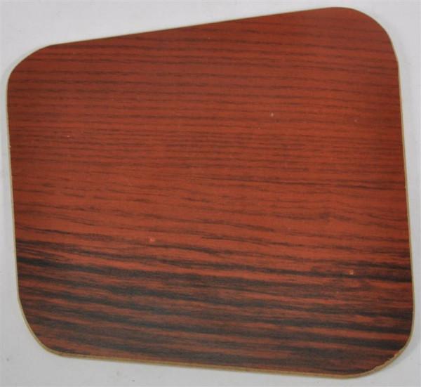 Platte Holzdekor ca. 14x14 cm