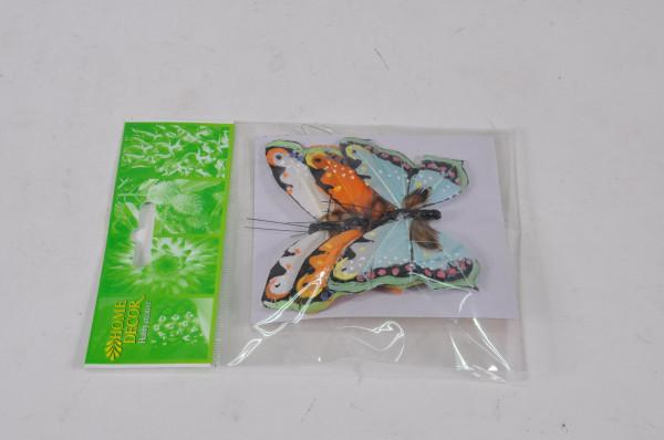 Schmetterling am Draht 3er Set ca. 9cm 82171001400