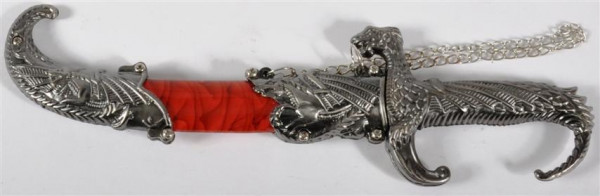 "Messer ""Drachen"" GK, Messer ca. 22x6 cm"