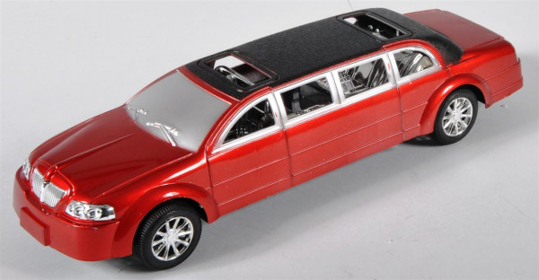 Strech Limousine farbl. sort. OPP, ca. 27x8 cm