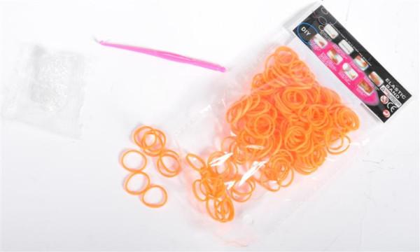Scoubi Loops 200 Stck/ Beutel PBH 12 Farben sort. incl. Haken u. Häckelnadel