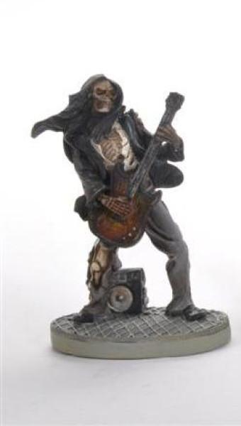 Skelett Musiker 4fach s. BB, ca. 7x11cm