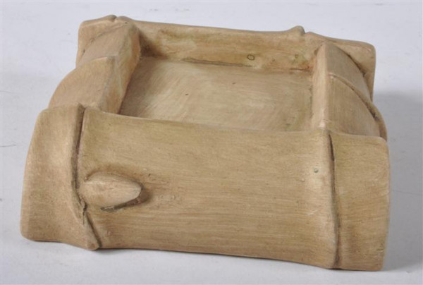 """Aschenbecher """"Bambus"""" ca. 12,5x12,5x5 cm"""