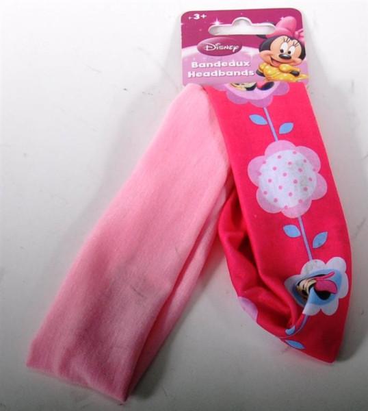"""2er Set Stirnband """"Micky Mouse"""" AK ca. 22x6cm"""