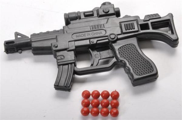 BB Gewehr m Zielfernrohr unter 0,5 Joule OPP, ca. 11,5x6,5x1 cm