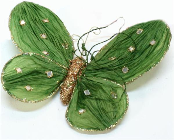 Papier Schmetterling 3farb. s. PB; ca. 30cm