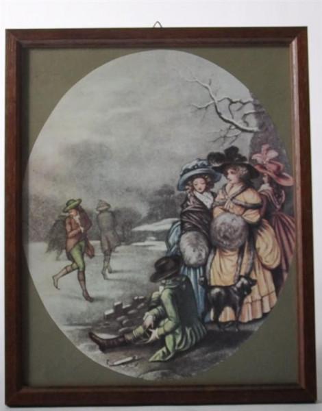 """Wandbild """"Nostalgie"""" ca. 27x21,5"""
