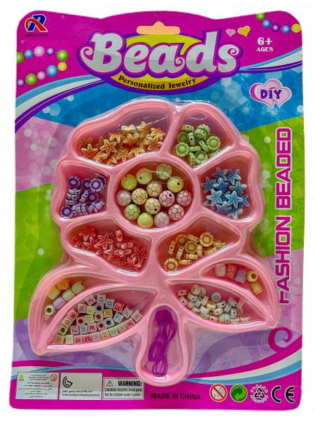 Perlenset für Kinderschmuck BC; ca. 21.0 x 29.0 cm