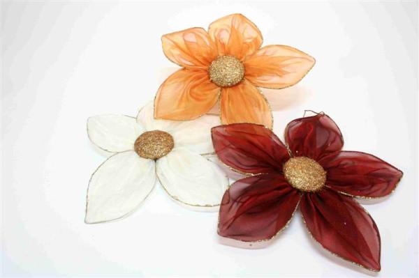 Blume 3 farb. sort. PB; ca. 40cm