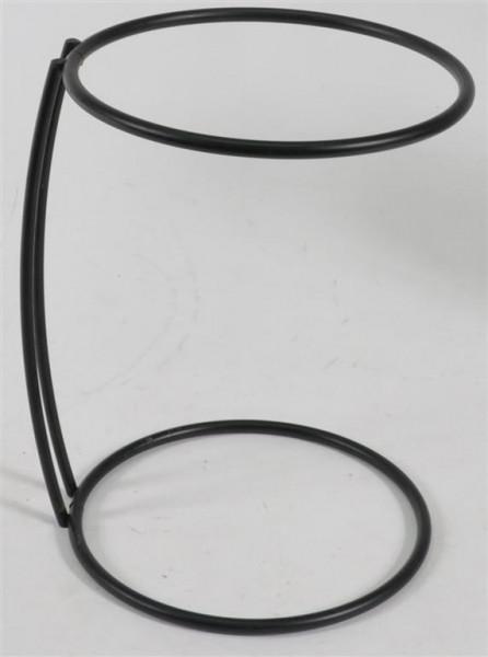 Metallständer schwarz ca. 19 cm hoch