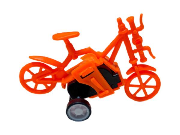 Fahrrad mit Rückzug farblich sortiert OPP ca. 7x3x5 cm