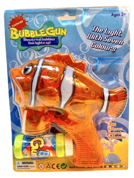 Seifenblasen Pistole Clownfisch BK, ca. Karte 23x27cm