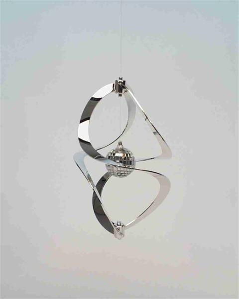Windspiel Silber KB,ca. L: 27cm