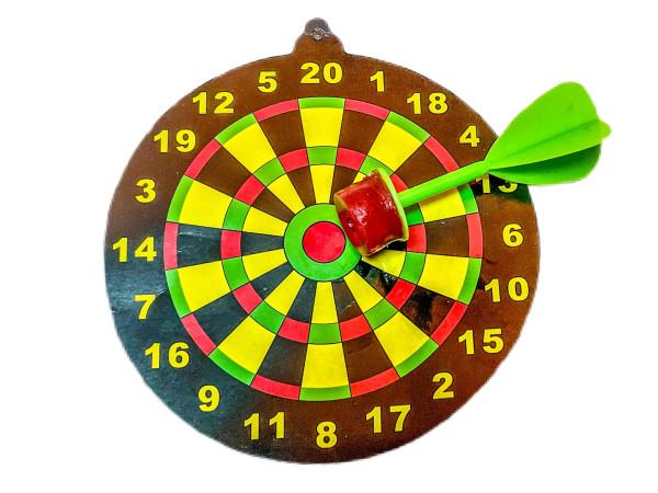 Dartspiel mit Saugpfeil OPP ca. 9cm D