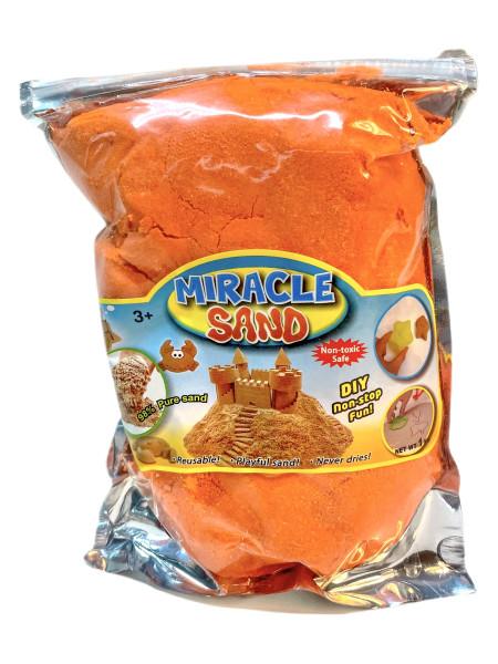 Kinetik Miracle Sand 1000 g. im Beutel farbl. sort., ca. 15x21,5 cm
