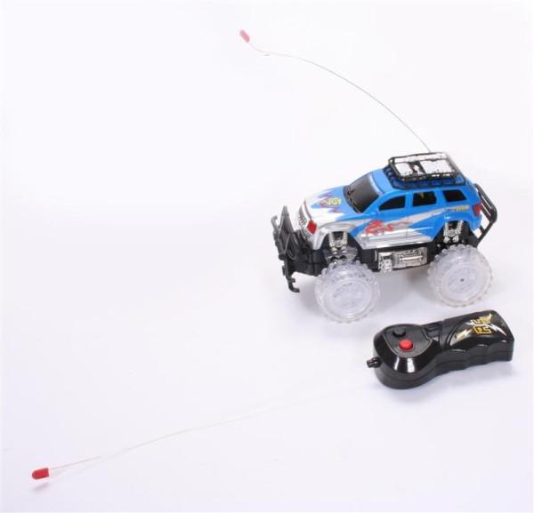 Geländewagen mit Licht 3farb s. WB, ca. 25x13,5x13cm