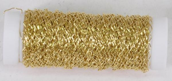 """Bouilloneffektdraht gold ca. 25gr. """"91240011500"""""""