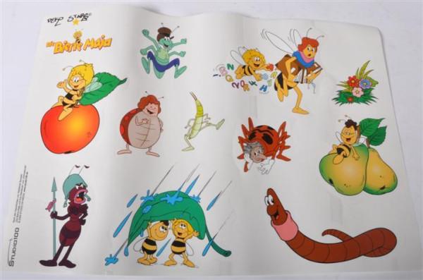 """Sticker """"Die Biene Maja"""" sort. ca. 49 x 34 cm"""