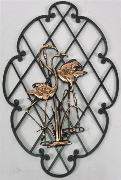 """Wanddekoration """"Flamingo"""" ca. 30x18,5 cm"""