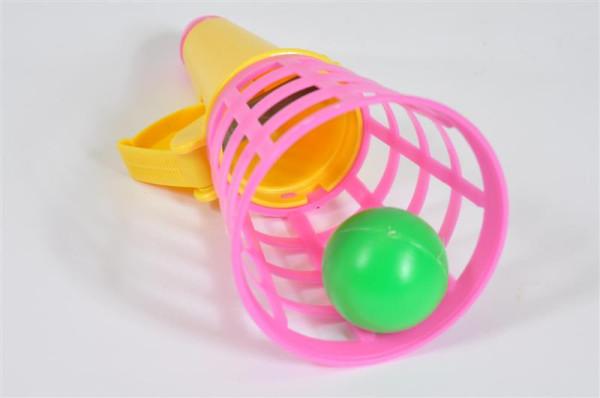 Fangball farbl.sort. OPP, ca. H: 15cm, D: 6cm