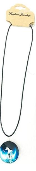 Halskette Einhorn 4fach sort. OPP ca. 3cm