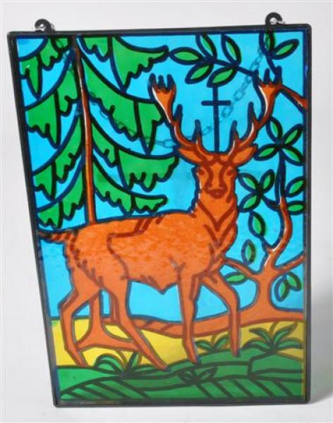 Fensterbild ca. 16x23,5 cm