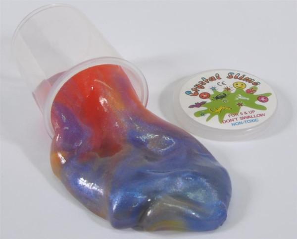 Knet Slime m. Glitzer bunt DIS, ca. 4,7x4 cm