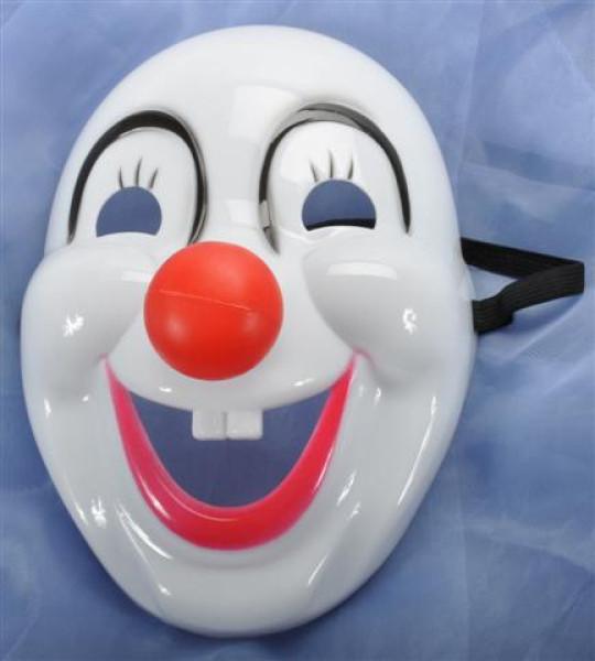 Maske Clown OPP, ca. 16x22x10 cm