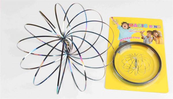 "magisches Spiralarmband ""rainbow color"" AK ca. 13 cm"