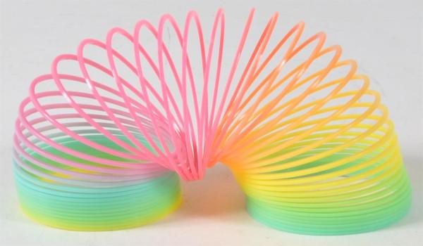 """Magic Spring """"Rainbow Colors"""" GK ca. 6x6x6cm"""