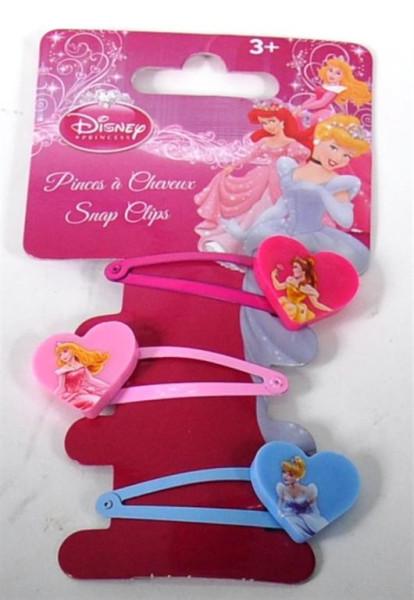 "3er Set Haarclip ""Disneys Princess"" AK ca. 14,5x5,5cm"