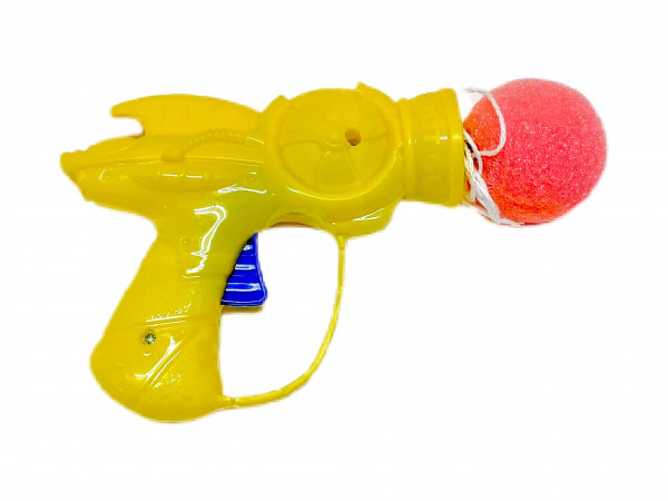 Softball Pistole farbl. sort. OPP ca. 13x8x3cm