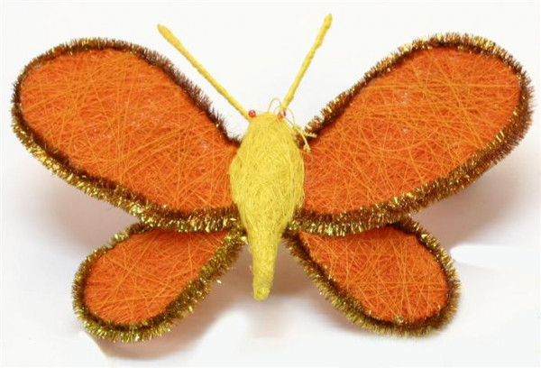 Schmetterling 3 farb. sort. PB; ca. 27x22cm