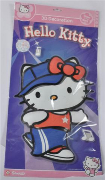 Hello Kitty Glow in the Dark PB ca. 57x29 cm