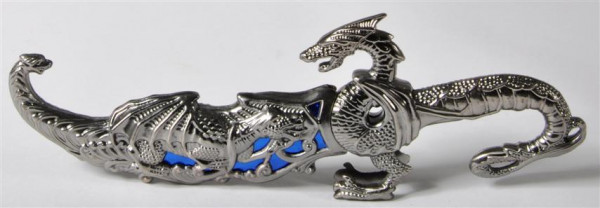 "Messer ""Drachen"" GK, Messer ca. 25x9 cm"