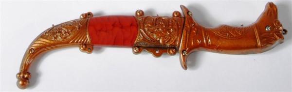 "Messer ""Pferdekopf"" GK, Messer ca.22x5,5 cm"